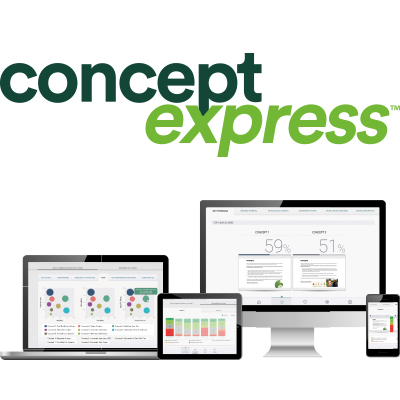 Harris Interactive launches Concept Express™ image